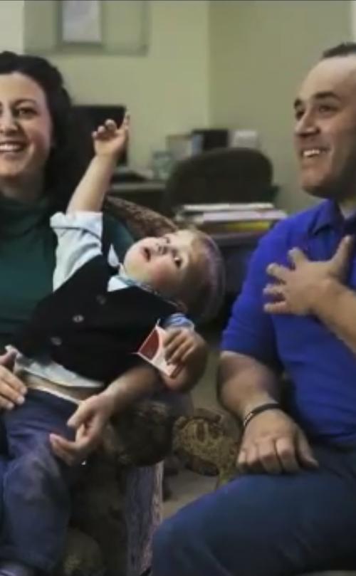 Screen Shot of Fertility Testimonial